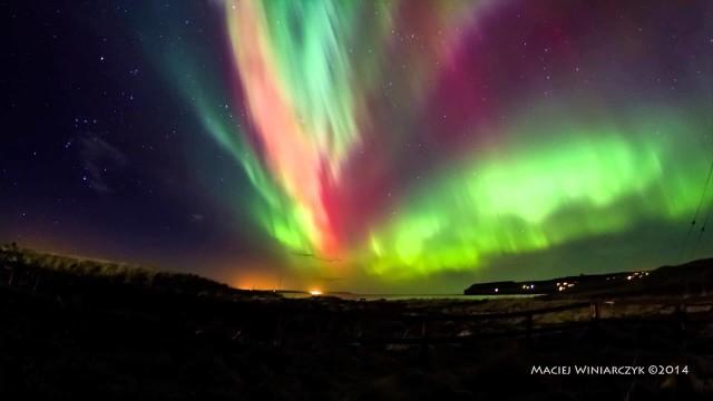 Le magiche notti artiche delle aurore boreali