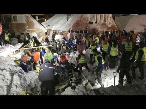 Valanga fatale alle Svalbard in Norvegia