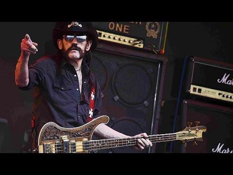 E' morto Lemmy Kilmister, leader dei Motörhead