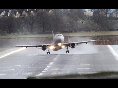 Manchester Airport, imperversa la tempesta Frank: atterraggi da brivido!