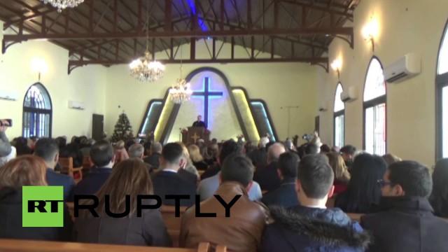 Chiesa evangelica di Aleppo riaperta per Natale dopo l'attacco ISIS