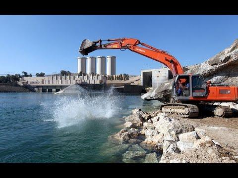 La diga di Mosul sta cedendo