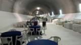 """Un """"buffet"""" da 120.000 euro al termine di una galleria della Salerno-Reggio"""
