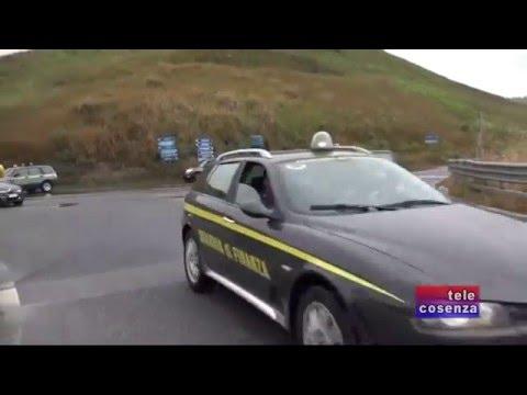La GdF sequestra 8 chilometri della Salerno-Reggio Calabria