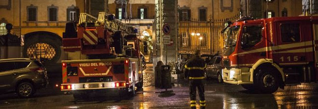 Incendio all'ospedale San Camillo di Roma: 1 morto
