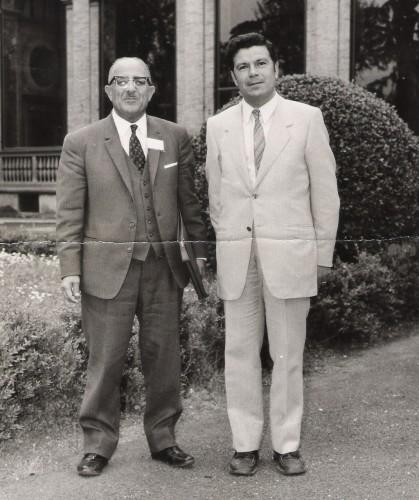 Zaky Iskander e Corrado Basile (1973).