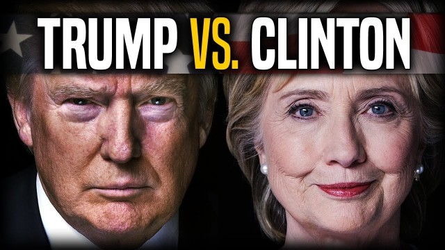 Donald Trump vs Hillary Clinton debate parody