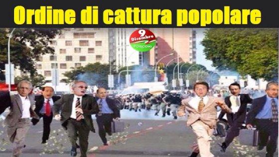 """Movimento Forconi: """"Catturiamo tutti i parlamentari"""""""