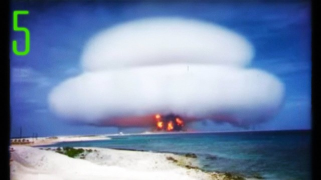Test nucleari Usa mai visti prima