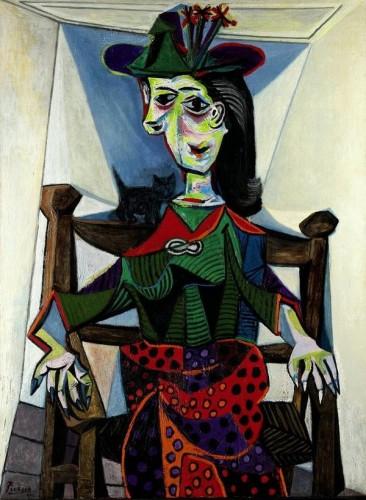Dora Maar au Chat di Pablo Picasso