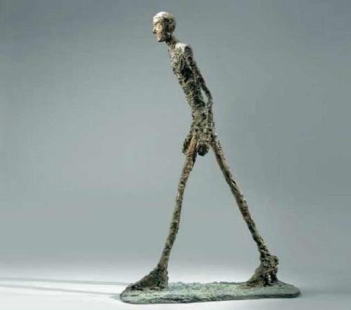 L'homme qui Marche di Alberto Giacometti