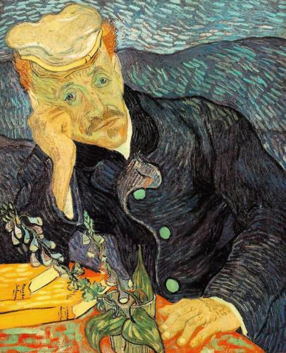 Ritratto di Paul Gachet di Vincent van Gogh