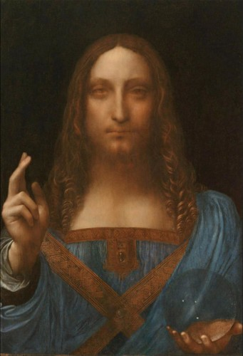 """""""Salvator Mundi"""" il dipinto di Leonardo Da Vinci prima e dopo il restauro"""