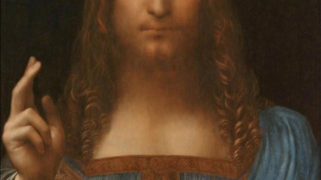 """""""Salvator Mundi"""" di Leonardo"""