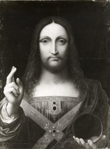 """""""Salvator Mundi"""" il dipinto di Leonardo Da Vinci prima del restauro"""
