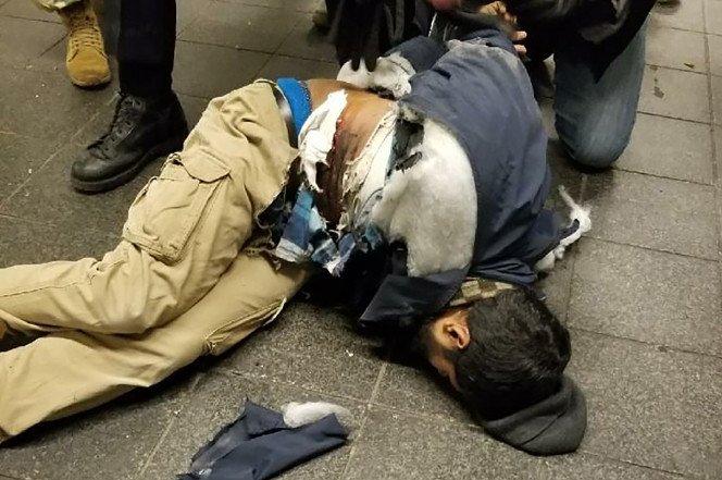 Akayed Ullah l'attentatore di New York subito catturato