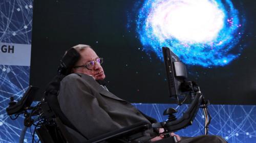 Il fisico Stephen Hawking