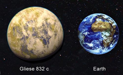 Il pianeta Gliese 832c