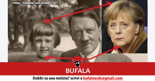 Una delle tante bufale in rete : La Merkel sarebbe una delle figlie del Terzo Reich