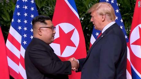 Trump e Kim face to face