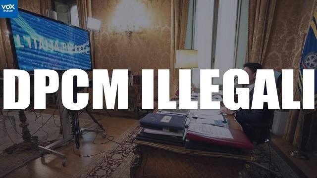 DPCM 2020 ILLEGALI : PRONTA DENUNCIA PENALE DI MASSA