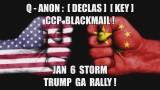 Q-ANON DECLAS DURHAM KEY! CHINA BLACKMAIL!