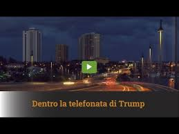 LA TELEFONATA DI TRUMP