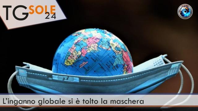 TgSole24 – 11 gennaio 2021 – L'inganno globale si è tolto la maschera