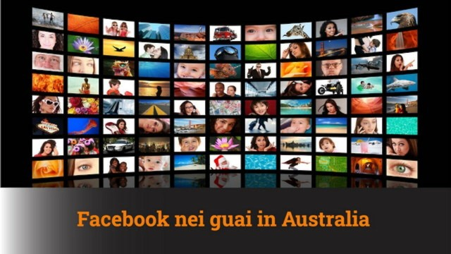 FACEBOOK NEI GUAI IN AUSTRALIA