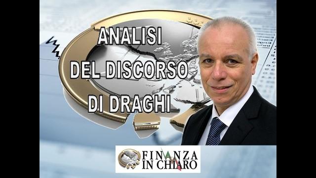 ANALISI DEL DISCORSO DI DRAGHI