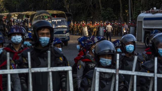 LA PANDEMIA IN MYANMAR
