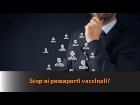 STOP AI PASSAPORTI VACCINALI?