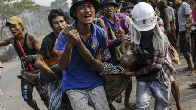 JUSTICE FOR MYANMAR