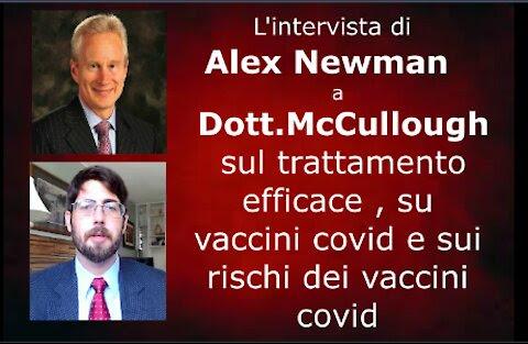 ALEX NEWMAN INTERVISTA IL DOTT. McCULLOUGH