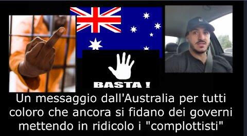 UN MESSAGGIO DALL'AUSTRALIA