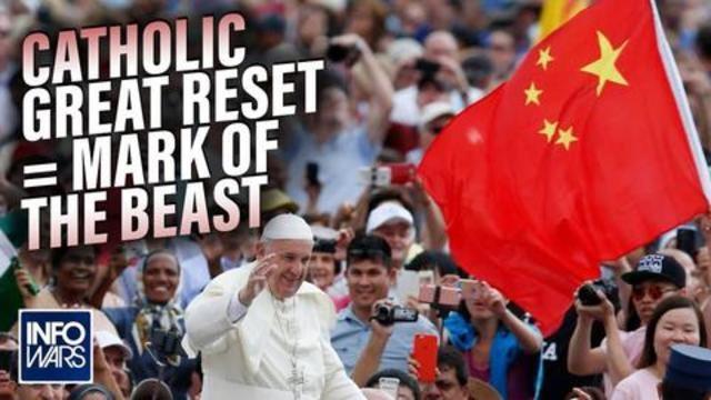 CATHOLIC GREAT RESET = MARK OF THE BEAST