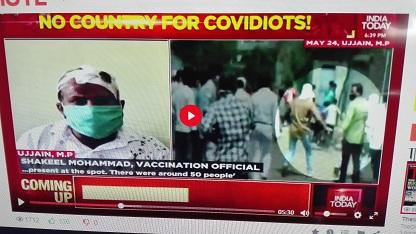 INDIA : I VACCINATORI PRESI A BASTONATE NEI VILLAGGI