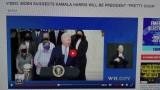 Video: Biden suggerisce che Kamala Harris sarà presidente molto presto