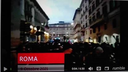 09/10/2021 – IERI A ROMA QUALCOSA SI È SPEZZATO