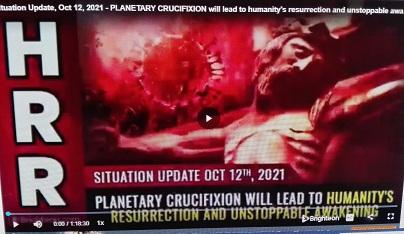 La crocifissione planetaria porterà alla resurrezione dell'umanità e al risveglio inarrestabile