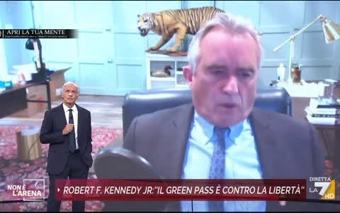 Massimo Giletti intervista Robert F. Kennedy