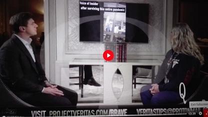 PROJECT VERITAS – JODI O'MALLEY INFORMATORE DEL GOVERNO FEDERALE HHS SI ESPONE – PARTE 1 – ITA