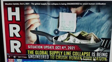 THE GLOBAL SUPPLY LINE COLLAPSE