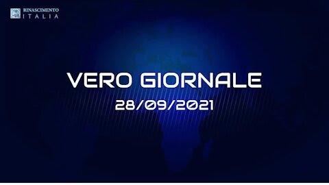 VERO GIORNALE 28.09.2021 – Il telegiornale di RINASCIMENTO ITALIA