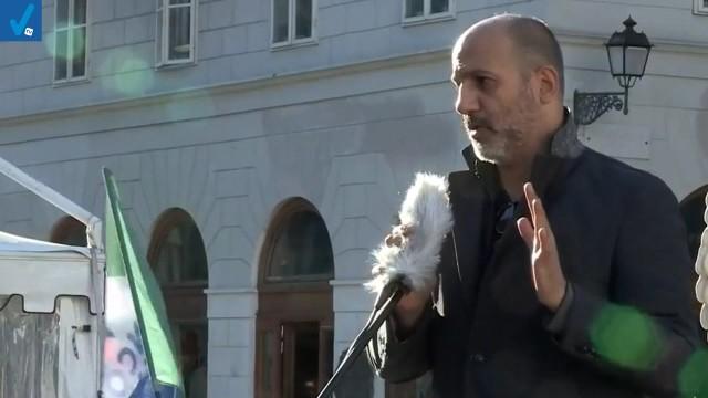 Discorso di Francesco Toscano a Trieste